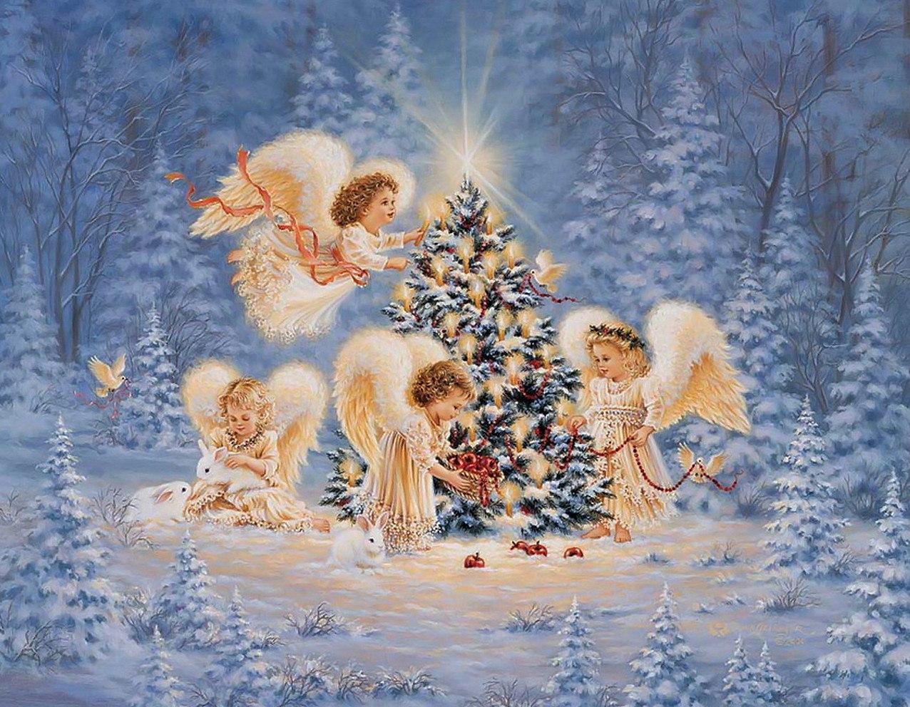 Открытки к рождеством христовым, картинки