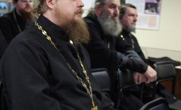 В Епархиальном управлении прошел семинар по открытию новых воскресных школ