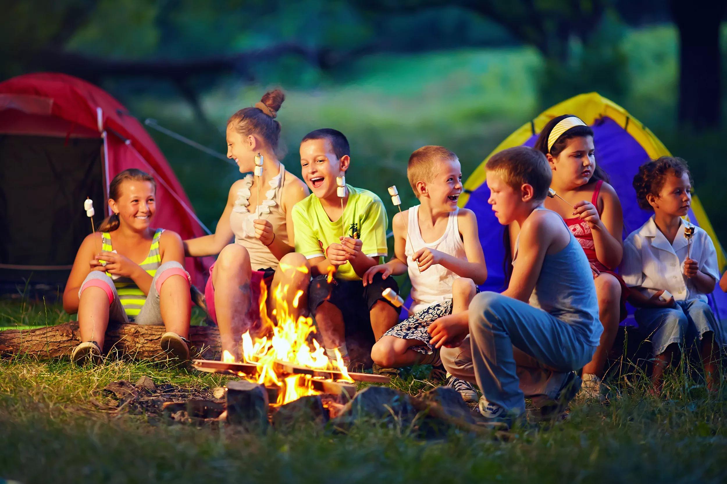 В летнем лагере картинки